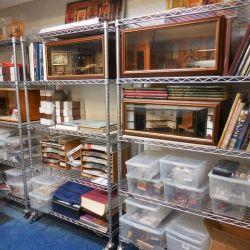 Shelves Close Up